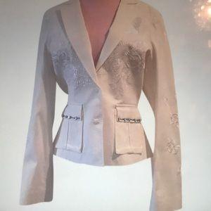 White Roberto Cavalli blazer